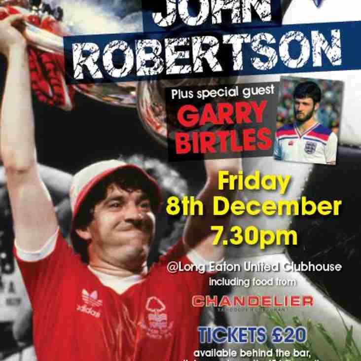 EVENING WITH JOHN ROBERTSON