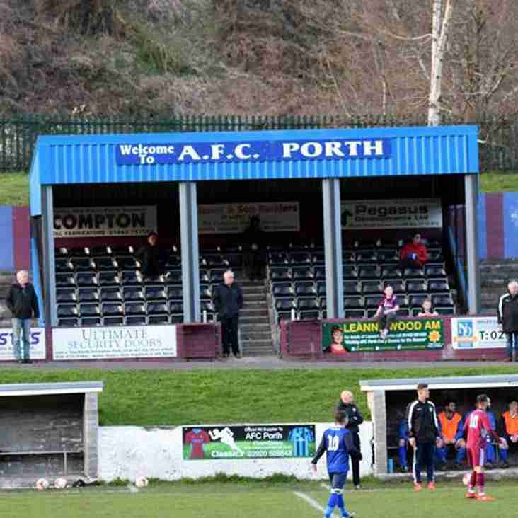 AFC Porth manager Stuart Brock aiming for successful future with Black Dragons