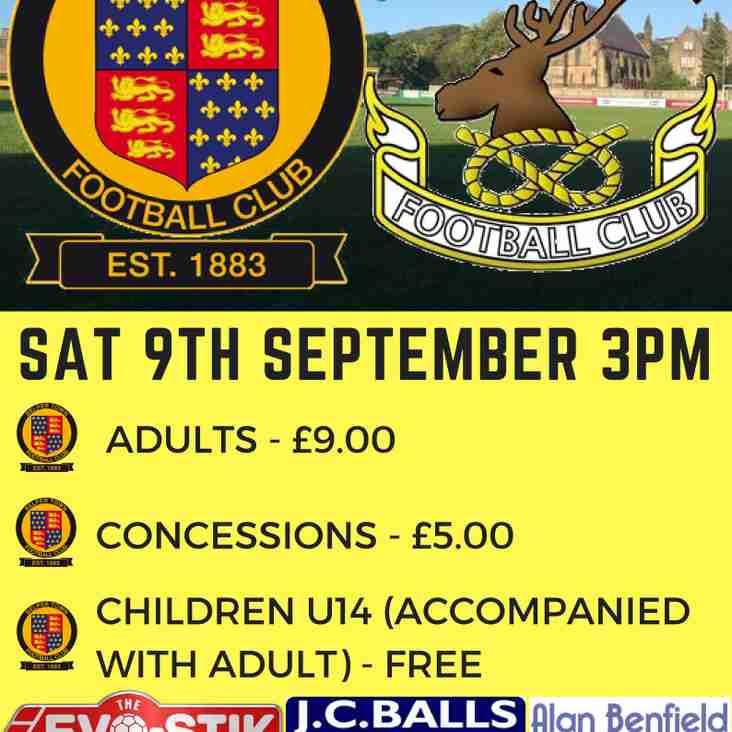 Belper Town FC V Chasetown Saturday 9th September 2017