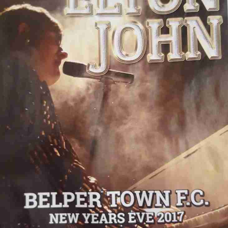 New Years Eve celebrations at Belper Town FC