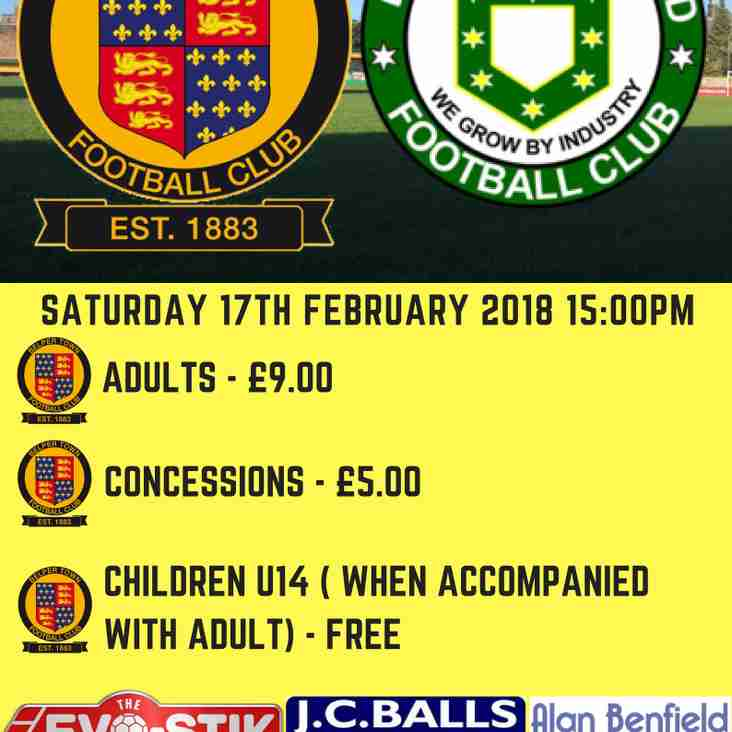 Belper Town vs Bedworth United (17th Feb 2018)