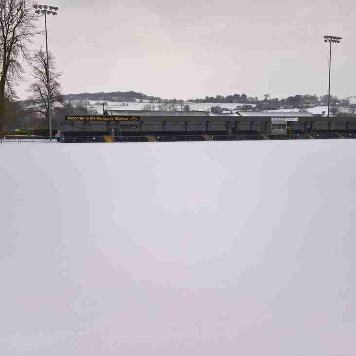 Belper Town Vs Cleethorpes Town - OFF (3rd March 2018)