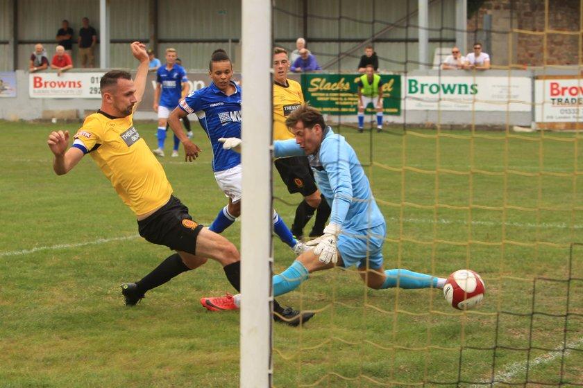 Matlock Town lift the Caroline Melbourne Memorial Cup