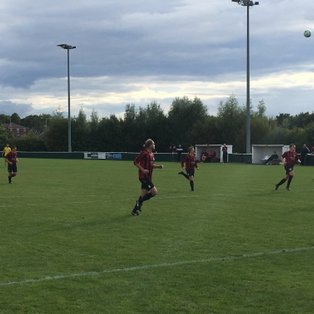 West Bridgford 0 Radford 3 by John Burns