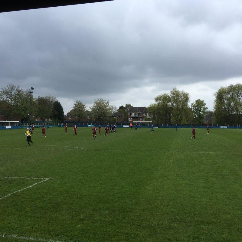 Radford 3 v West Bridgford 0