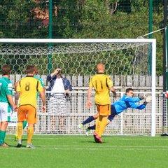 Dynamo Keeper Taylor saves v Basford