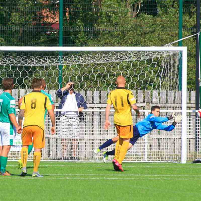 Dynamo Keeper Taylor saves v Basford