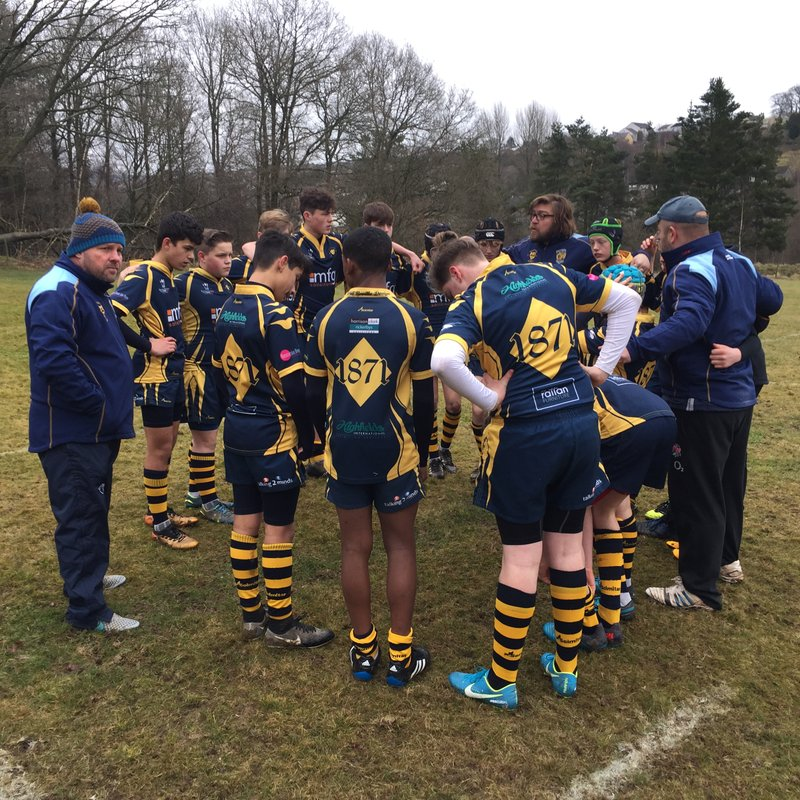 A mixed WRFC Under 14's Vipers visit Cinderford RFC