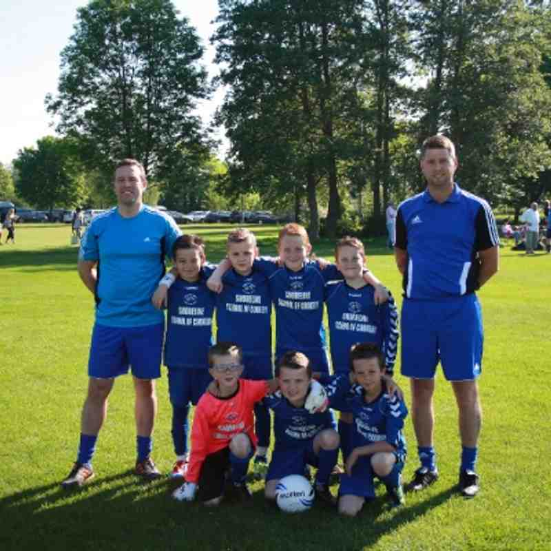 Herne Bay u9 Team for the Kennington Tournament