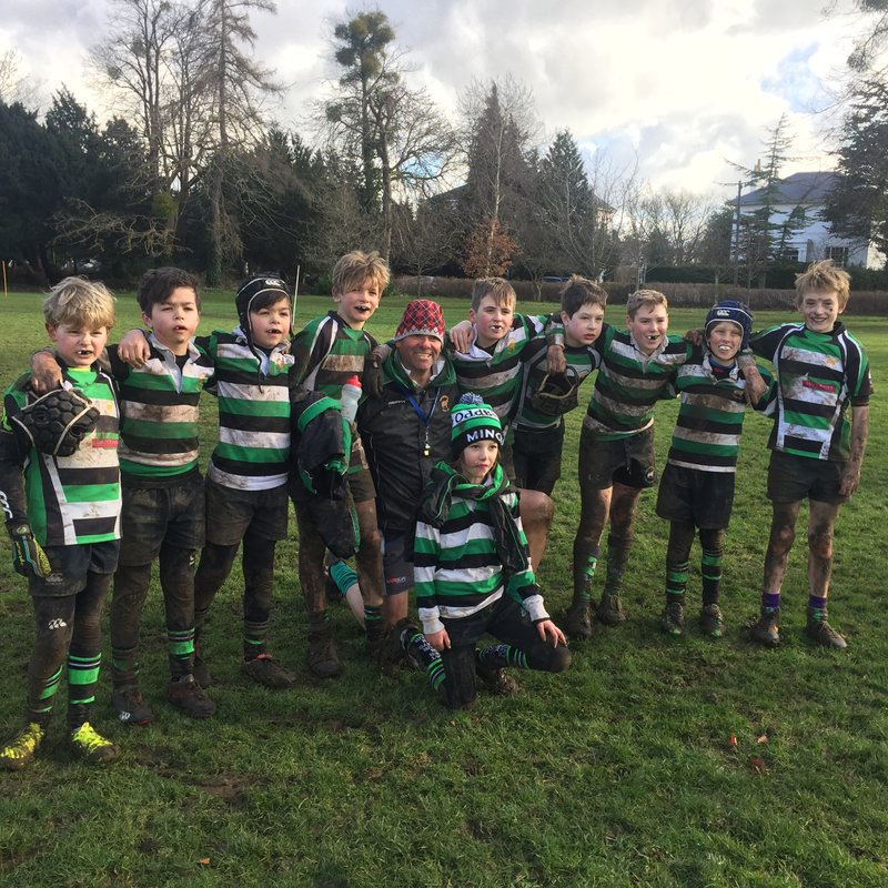 Old Pats v's Minchinhampton U11's 4th February 2018