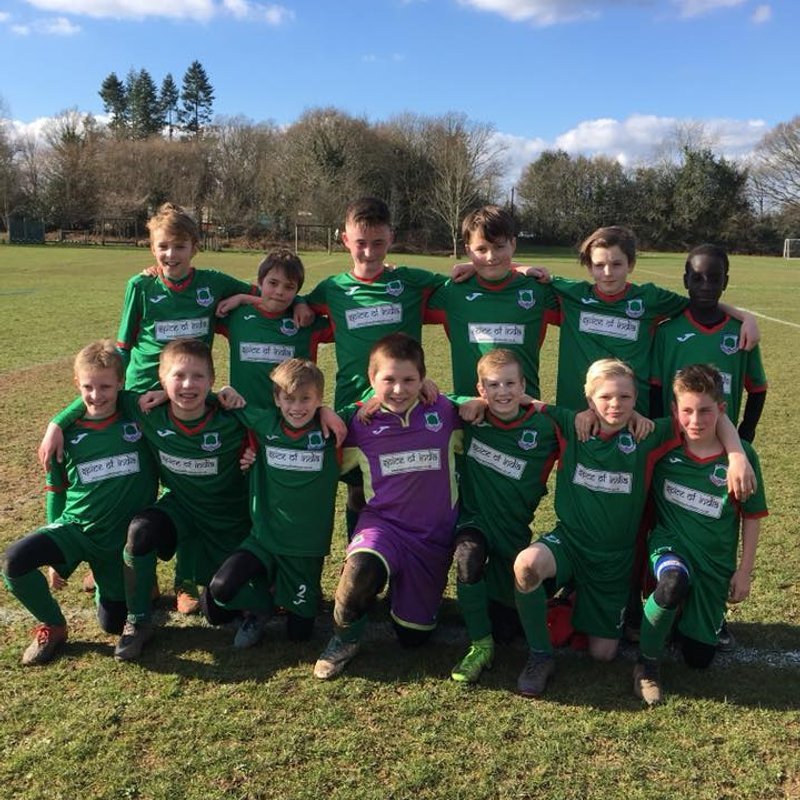 U12's lose to Curley Park Rangers Jets  2 - 3
