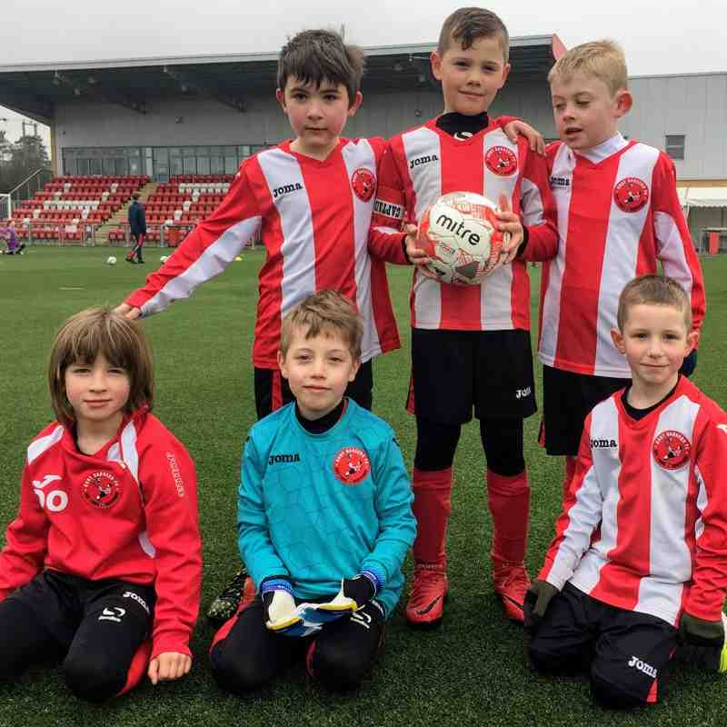 U7's  Match Day Team Photos