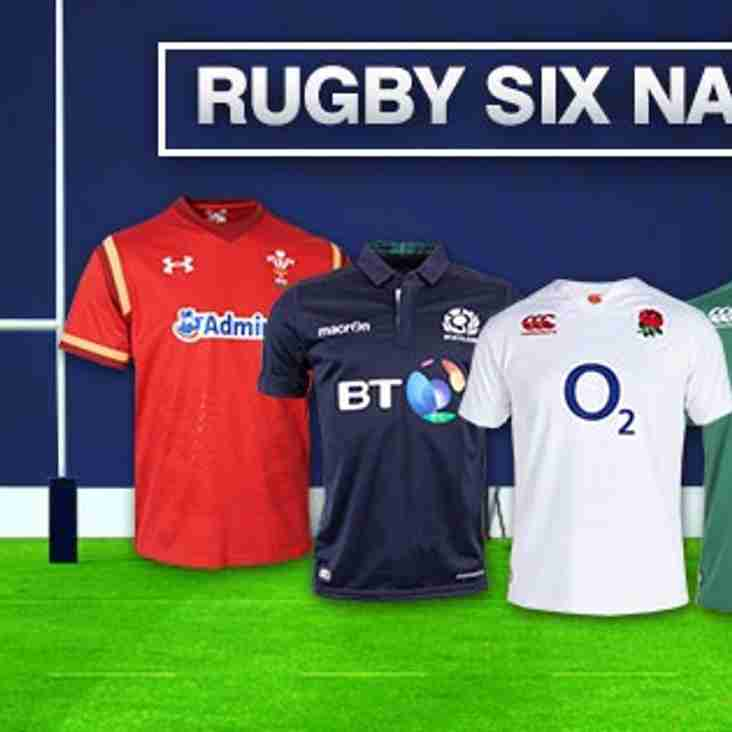 Six Nations Predictors Pool - £100 Voucher for the winner,  Sponsored by Sporting Billy