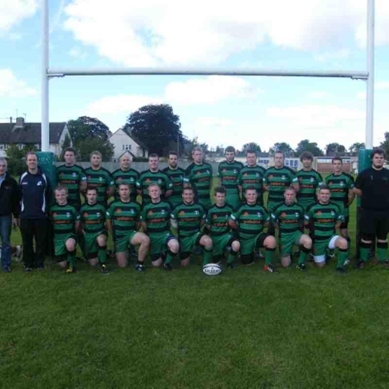 Fairford senior squad 2012 - 2013