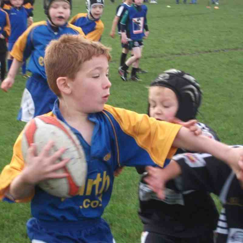 St Pats V OSJ Under 7's 5th Nov 2011