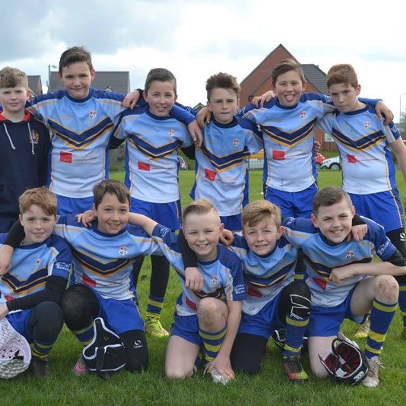 Under 13's Golds beat Clock Face Miners 38 - 10