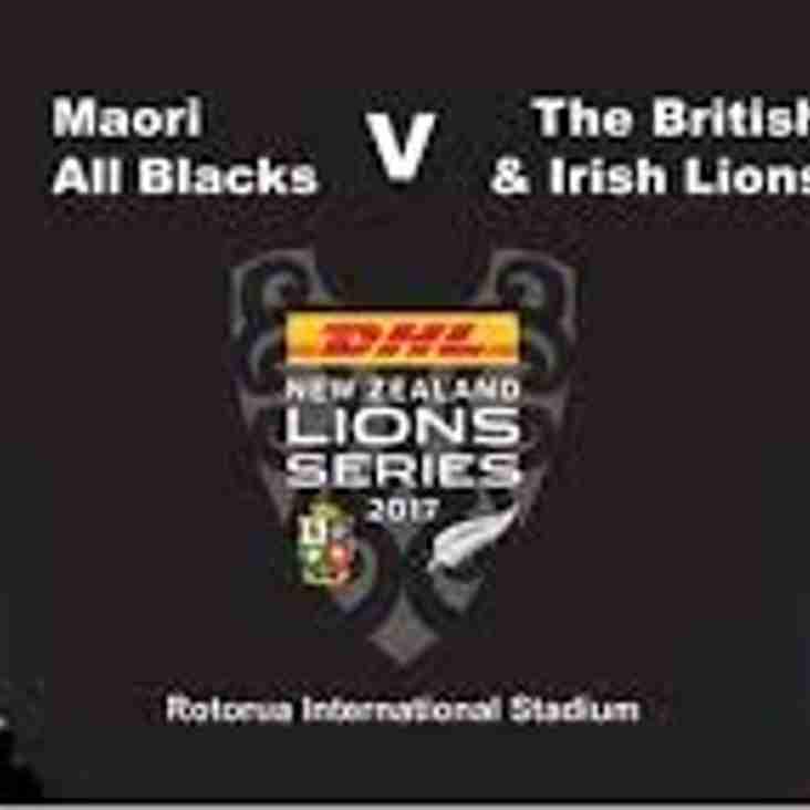 New Zealand Maori -v- British & Irish Lions