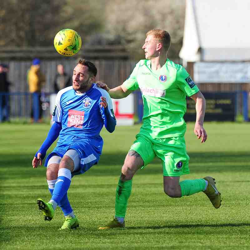 Angels 0 v 2 Dorking Wanderers -13-4-19
