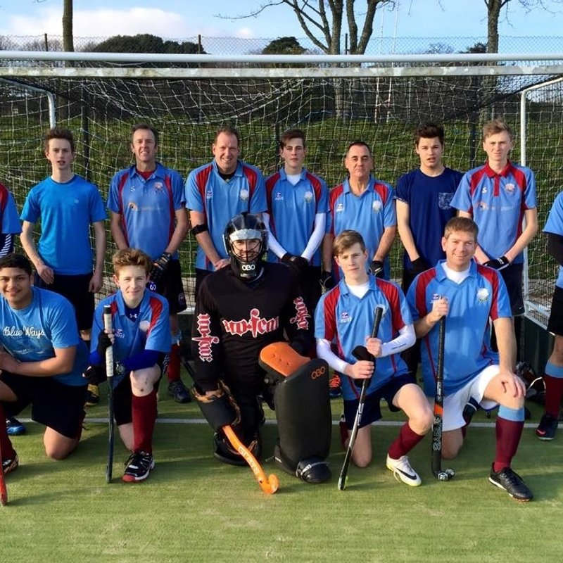 Men's 3rd XI beat Torbay B 1 - 5