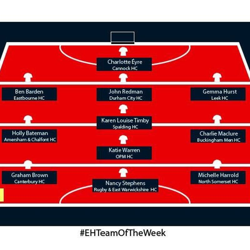 Ladies captain awarded place in EH team of the week