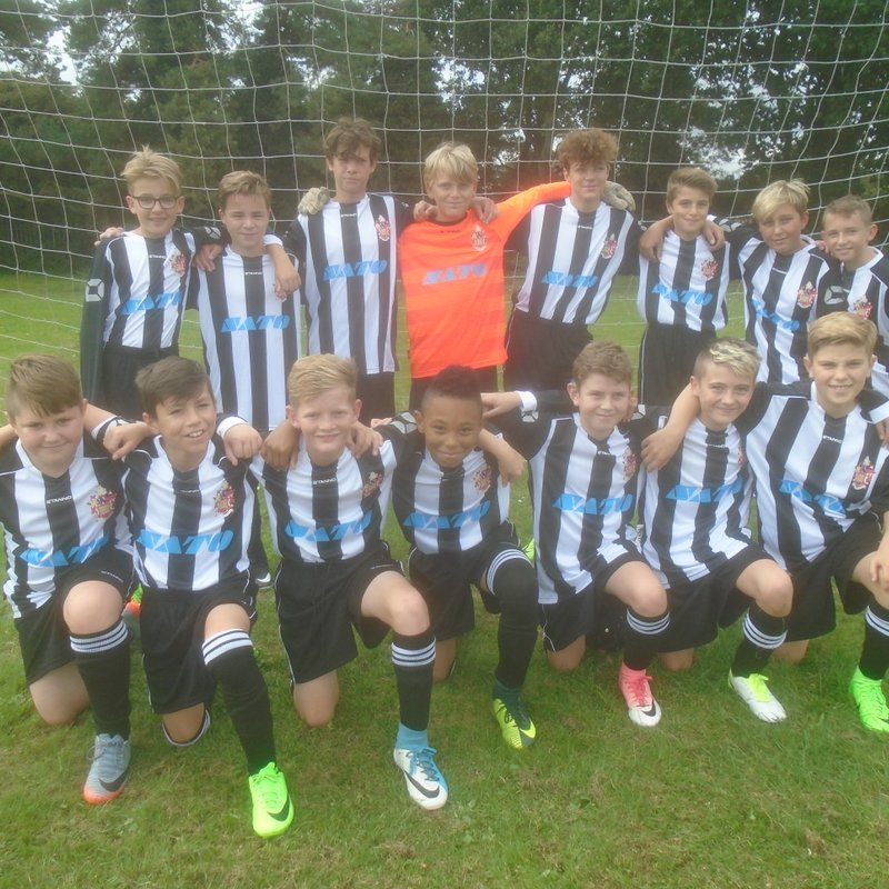 Cornard Dynamos Yellows 2 - 6 Harwich & Parkeston Youth Blues Under 13's
