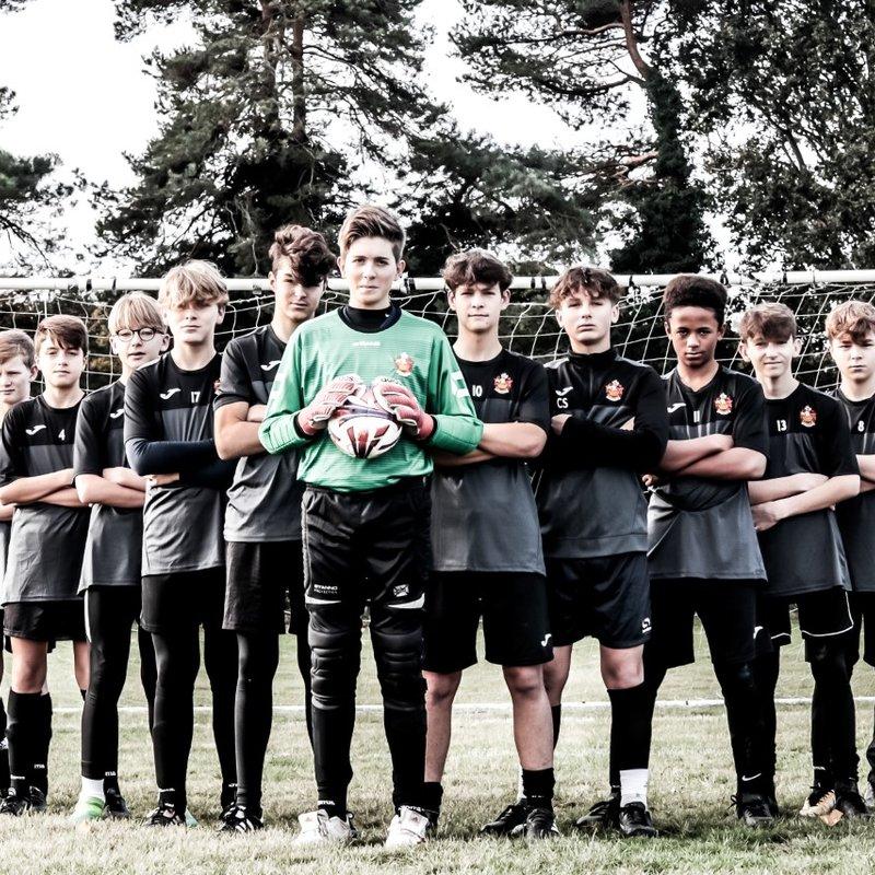 Under 14's League Cup Final vs. Eight Ash Green