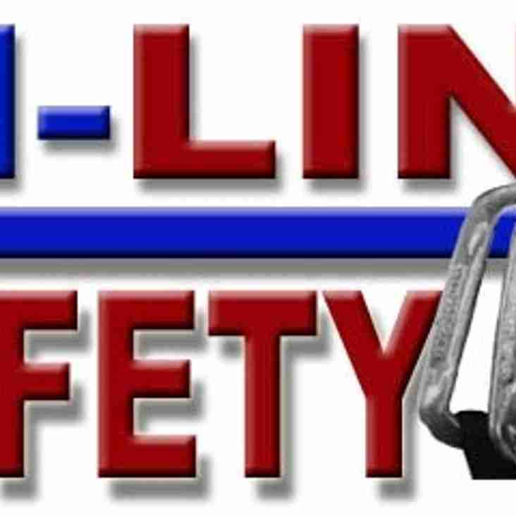 Please Welcome Our New Sponsor - IN-LINE SAFETY