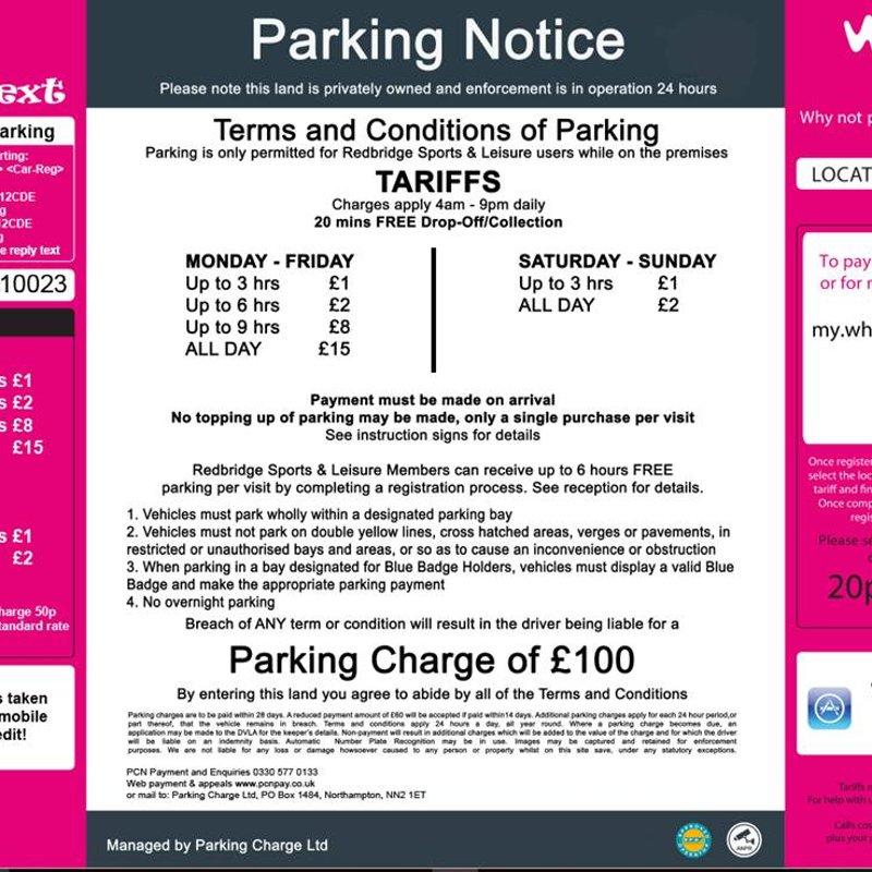 RSC Parking Update