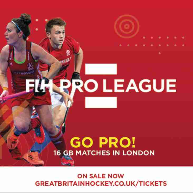 2019 FIH Pro League Games