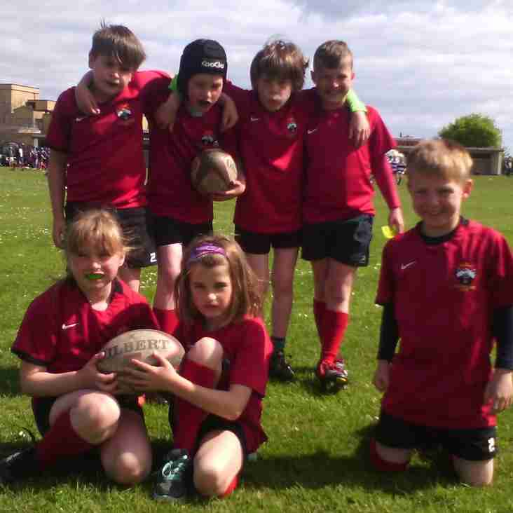 Minis at the Fife & Forfarshire Cup in St Andrews