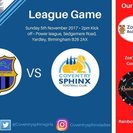 Solihull sporting vs Coventry Sphinx Ladies