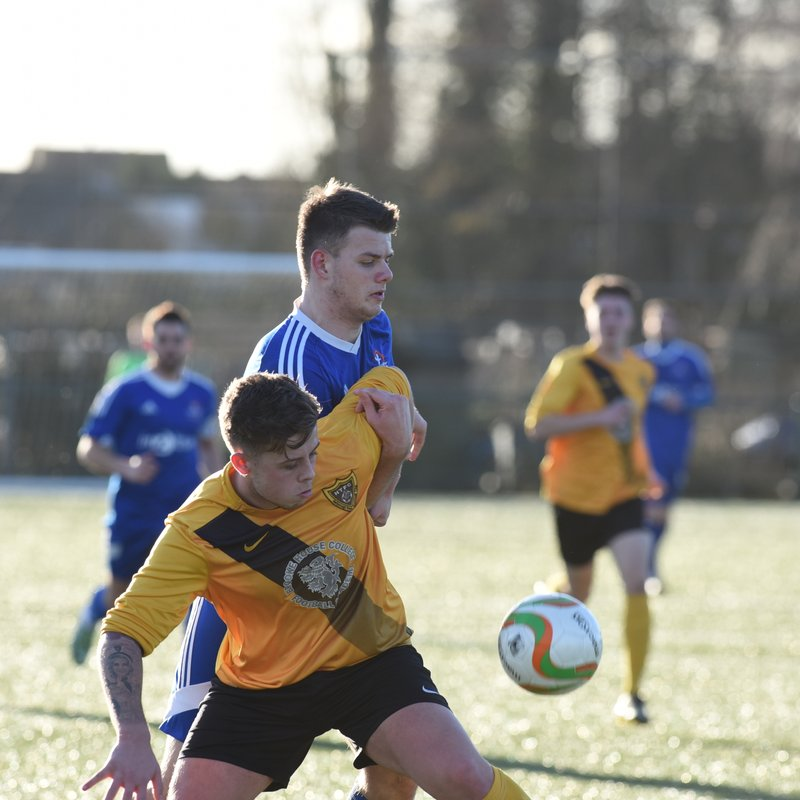 Yaxley vs Harborough Town 4th Feb by David Lowndes