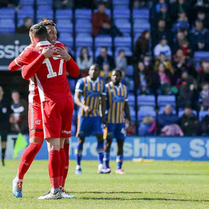Wootton's thoughts on the draw at Shrewsbury