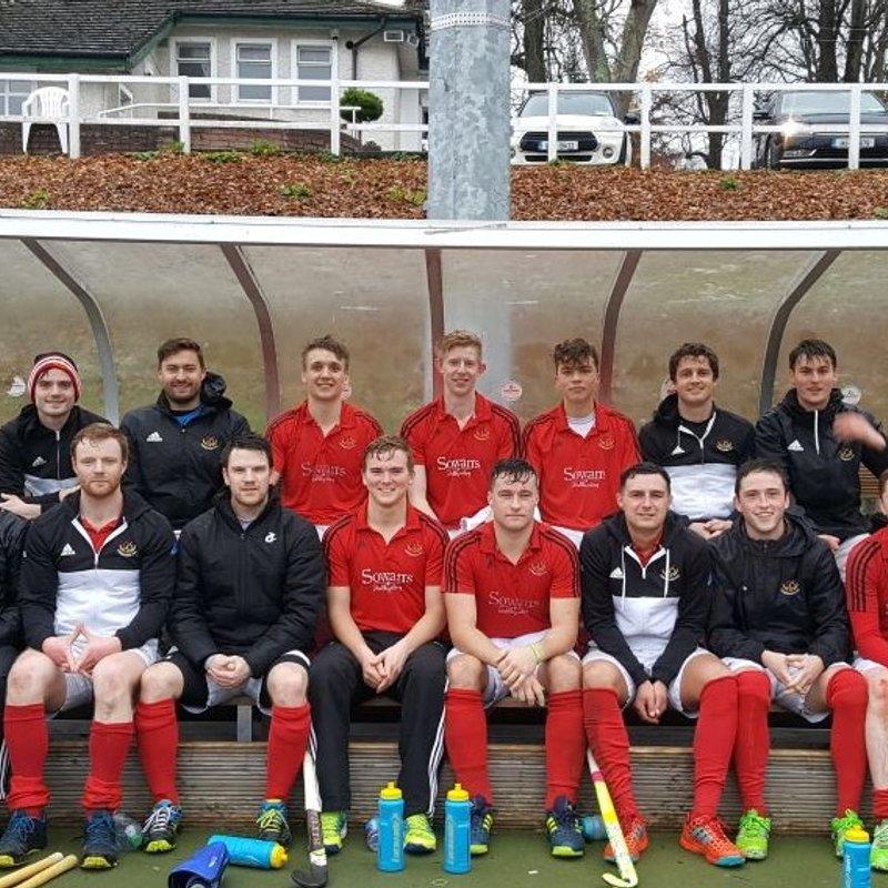 Men's 1sts beat Fingal 1st 1 - 4