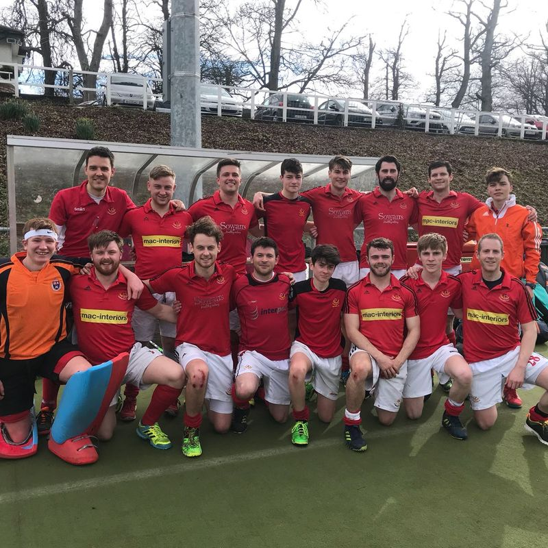 Men's 2nds beat YMCA 2nd XI 2 - 0