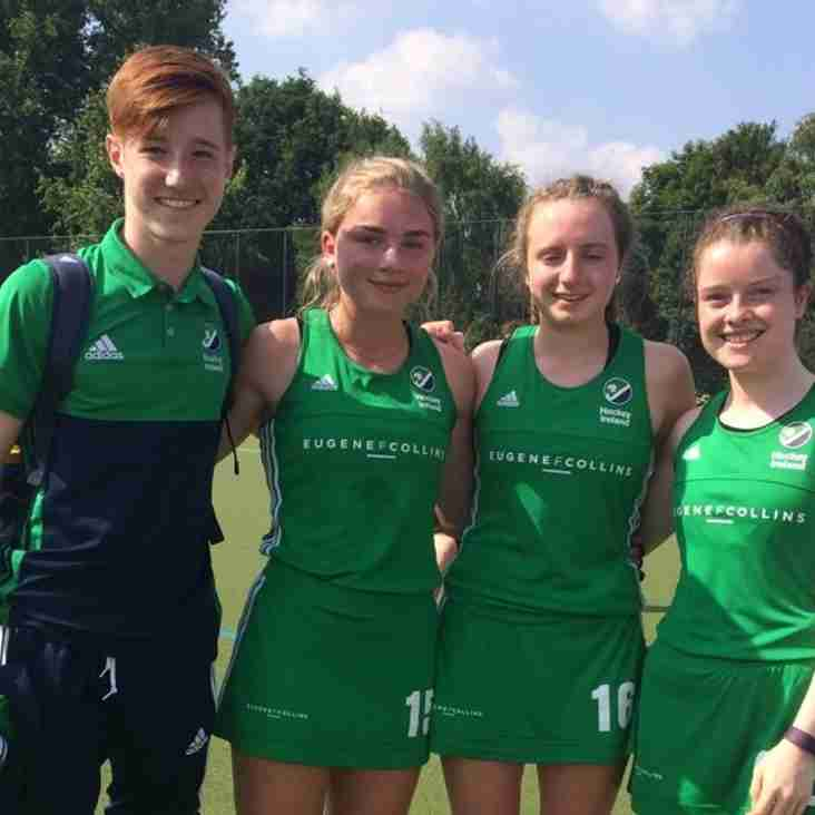 Four CHC Players Represent Ireland