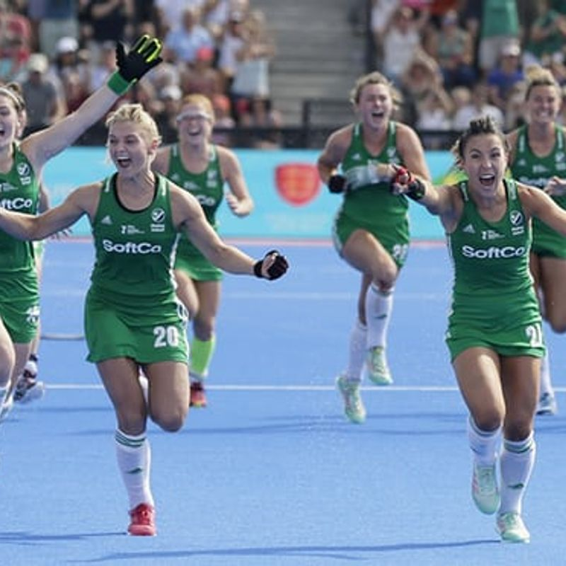 Ireland ladies qualify for the Hockey World Cup Final!