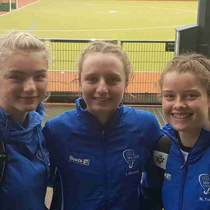 Milly, Isabelle & Nicola selected for Irish u16 squad