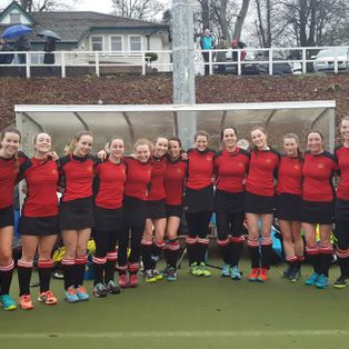 Comprehensive win for Ladies 1s.