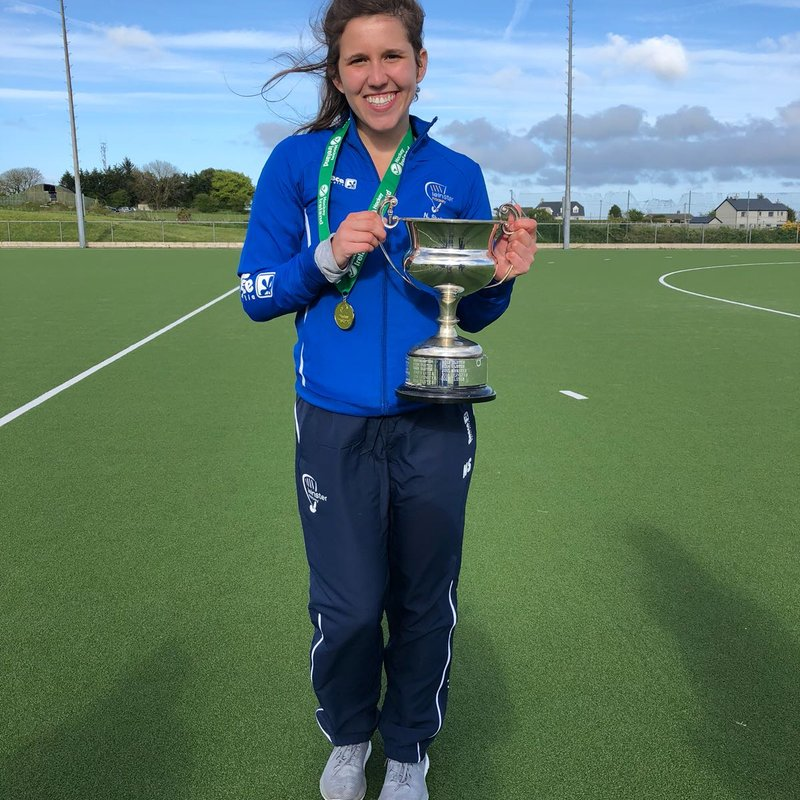Nadia part of victorious Leinster team