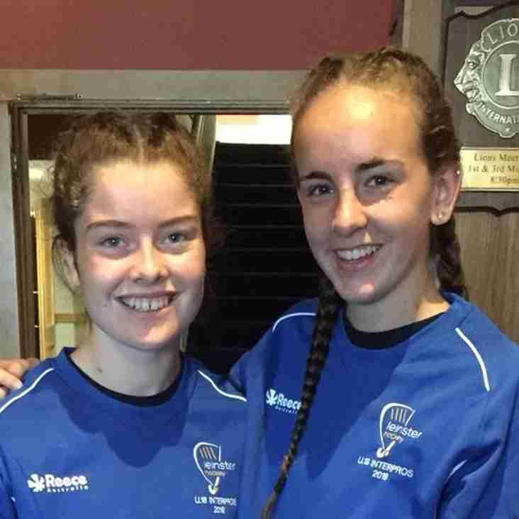 Leinster U18s - Emily & Nicola