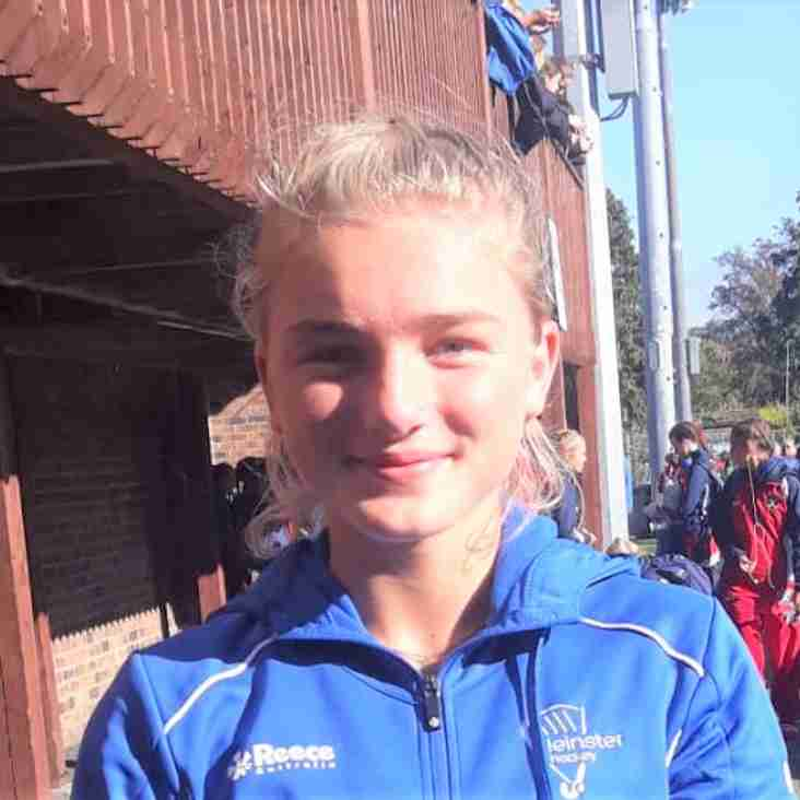 Milly plays for Leinster u16s