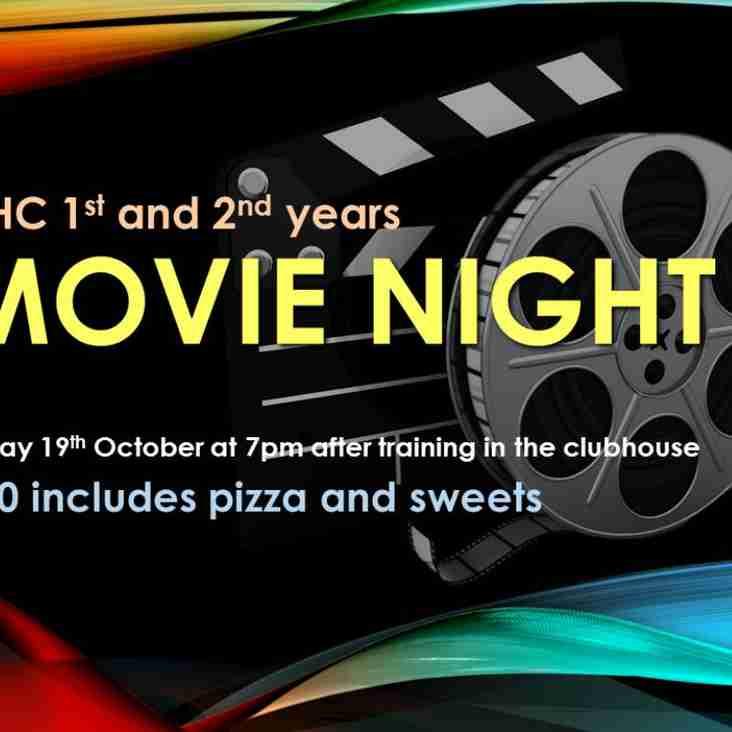 1st & 2nd Year Movie Night