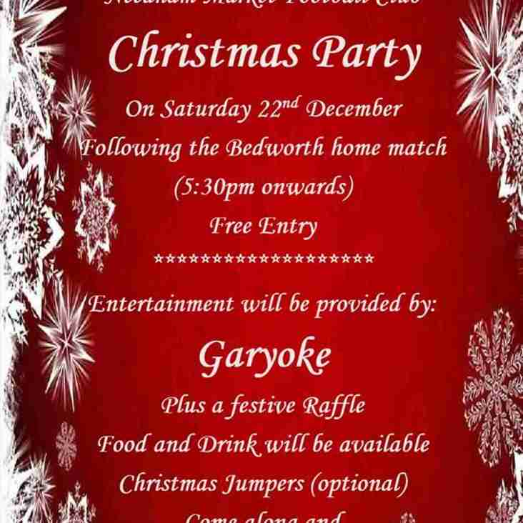 Christmas Party at Bloomfields – Saturday 22nd December