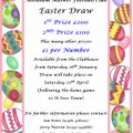 This year's Easter Draw will be launched at tomorrow's game (St Neots 26th Jan).