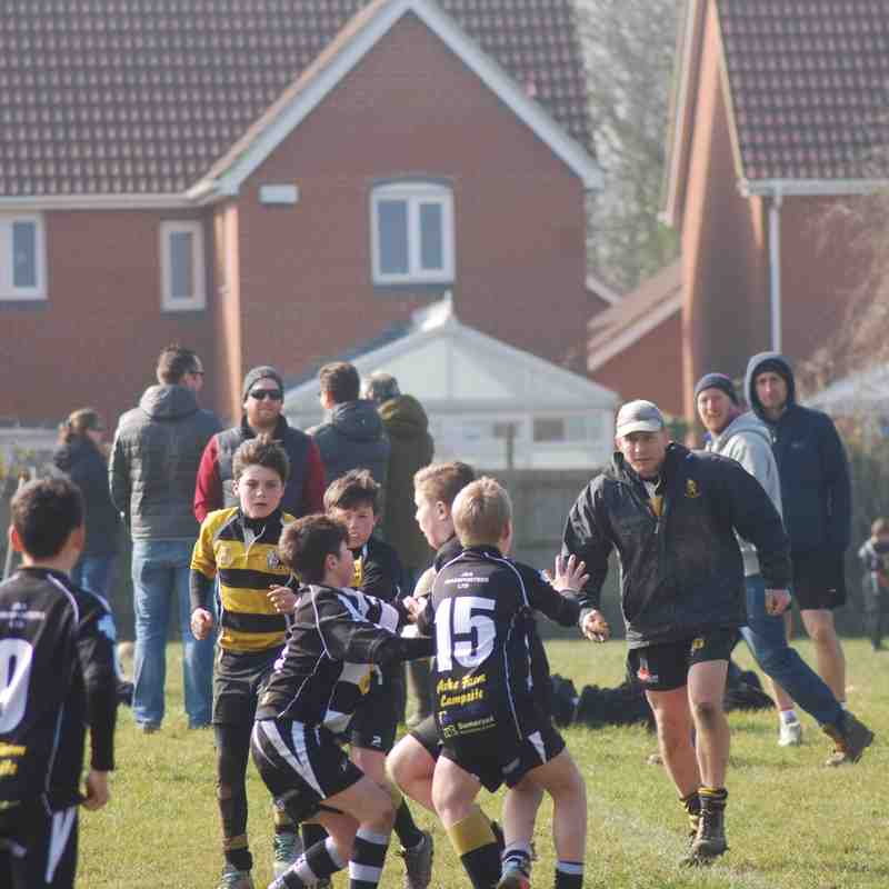 Yatton U12s vs North Petherton 13.03.2016