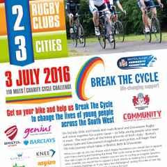 Break the Cycle charity bike ride