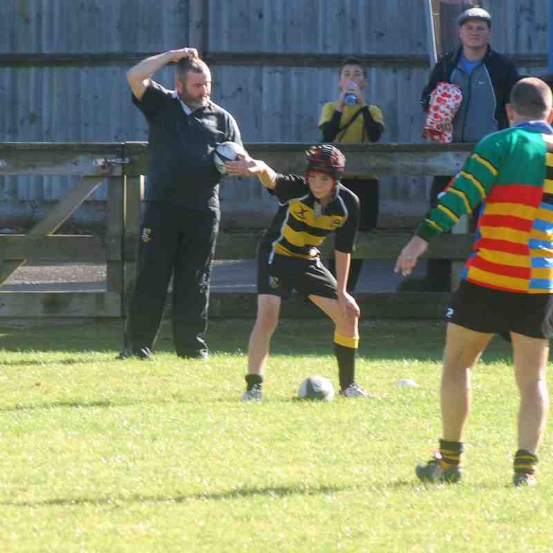Under 13 v Weston Super Mare - Sun 16 Oct 2016