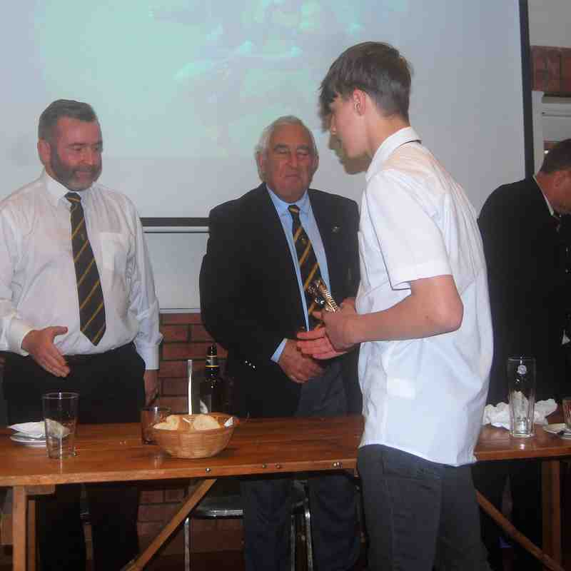 U14 Annual Awards 2017-18