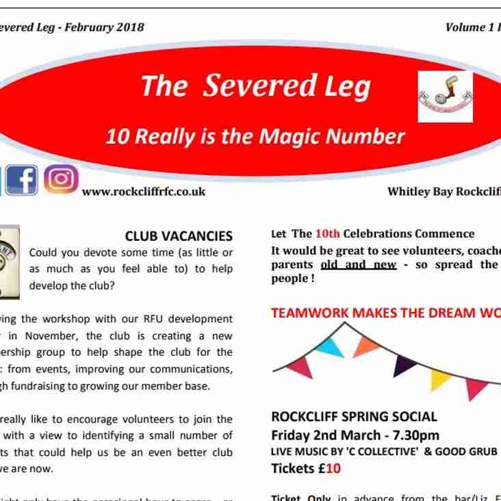 Severed Leg February 2018
